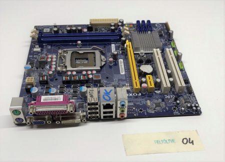 Foxconn H55MXV LGA1156 használt alaplap H55 PCI-e DDR3 1. gen.