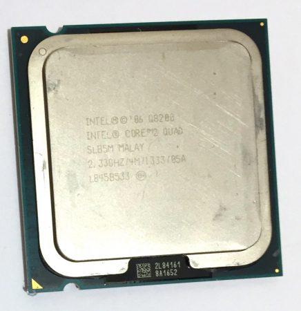 Intel Core 2 Quad Q8200 2.33Ghz CPU 4 magos Processzor LGA775 1333Mhz FSB 4Mb L2 SLG9S SLB5M
