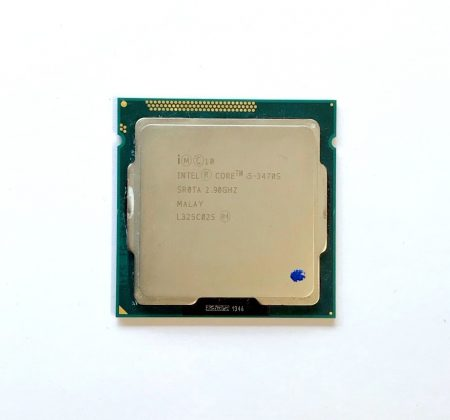 Intel Core i5-3470S 3,60Ghz használt Quad processzor CPU LGA1155 6Mb cache 3. gen SR0TA