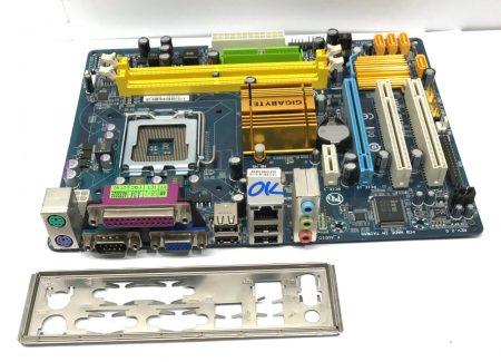 Gigabyte GA-G31M-ES2L LGA775 használt alaplap DDR2 integrált VGA G31