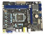 Asrock H61M-VS LGA1155 Socket használt alaplap Intel H61 2. 3. gen. DDR3