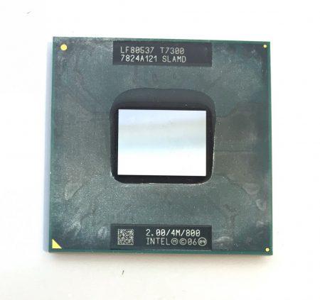 Intel Core 2 Duo T7300 laptop processzor CPU 2,00Ghz 800Mhz FSB 4Mb L2 Socket P SLA45