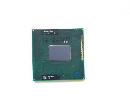 Intel Core i7-2620M használt laptop CPU processzor 3,40Ghz G2 2. gen. SR03F 4Mb Cache