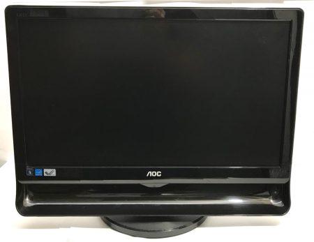 """AOC 18,5"""" 47cm LED Wide 16:9 használt LCD monitor 6 hónap garancia"""