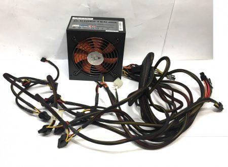 Chieftec CFT-620-A12S 620W használt minőségi tápegység PC TÁP 12cm 2x 6PIN PCI-e VGA