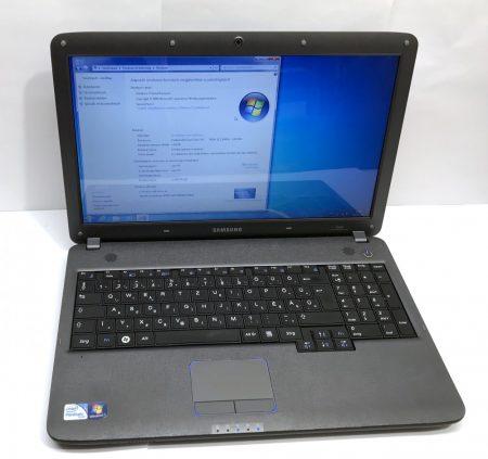 "Samsung R530 használt laptop 15,6"" Pentium Dual-Core 2,10Ghz 4Gb 250Gb HDMI webkamera"