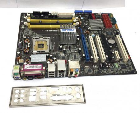 Asus P5LD2 Deluxe LGA775 használt alaplap DDR2 945P PCI-e