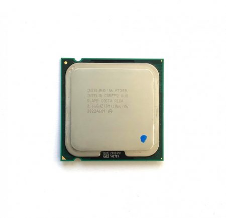 Intel Core 2 Duo E7300 2,66Ghz használt processzor CPU LGA775 1066Mhz FSB 3Mb L2 SLAPB