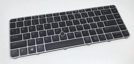 HP EliteBook 840 G3 840 G4 745 G3 745 G4 használt USA világítós laptop billentyűzet