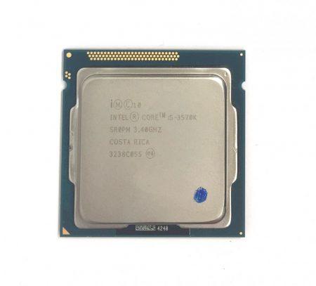Intel Core i5-3570k 3,80Ghz 4 magos Processzor CPU LGA1155 6Mb cache 3. gen SR0PM