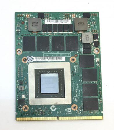 nVidia Quadro K3100M Laptop videokártya 4Gb GDDR5 MXM 3.1 Type B 256 Bit