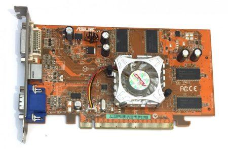 Asus ATI Radeon X550 256Mb/512Mb 128bit használt videokártya
