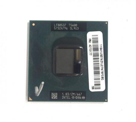 Intel Core 2 Duo T5600 laptop processzor CPU 1,83Ghz 667Mhz FSB 2Mb L2 Socket M SL9U3