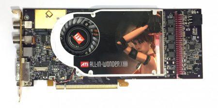 ATI All-In-Wonder Radeon X1900 GT 256Mb GDDR3 256bit PCI-e használt videokártya