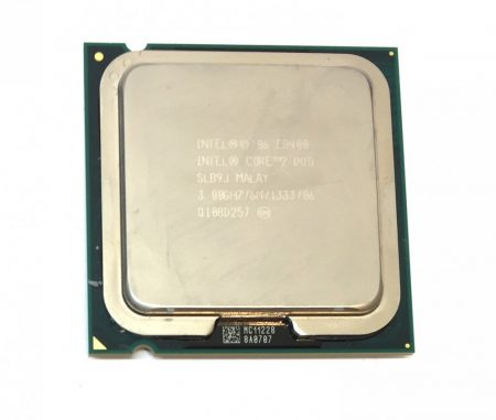Intel Core 2 Duo E8400 3,00Ghz kétmagos Processzor CPU LGA775 1333Mhz FSB 6Mb L2 SLB9J