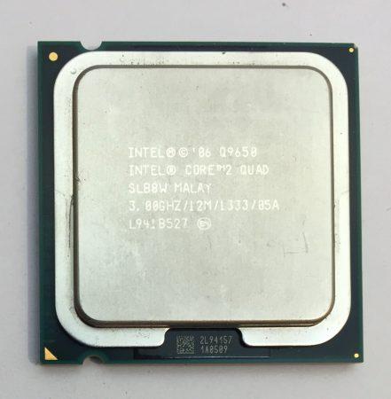 Intel Core 2 Quad Q9650 4 magos 3,00Ghz CPU processzor LGA775 1333Mhz FSB 12Mb L2 SLB8W