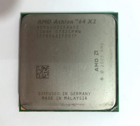 AMD Athlon 64 X2 6400+ 3,2GHz 2 magos AM2 Processzor CPU ADX6400IAA6CZ