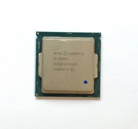 Intel Core i5-6500T 3,10Ghz használt QUAD processzor CPU LGA1151 35W TDP SR2L8 6Mb cache 6. gen.
