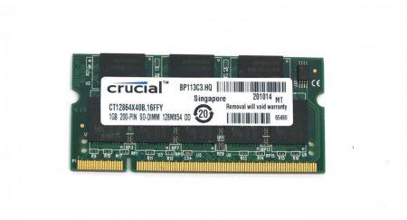 1Gb DDR 400Mhz Laptop notebook memória RAM SO-DIMM PC3200 DDR1 ÚJ