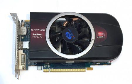 Sapphire RADEON HD 6770 1Gb használt videokártya GDDR5 128bit PCIe HDMI