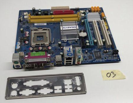 Gigabyte GA-945GCM-S2C  LGA775 használt alaplap PCI-e SATA integrált videokártya