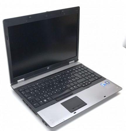 """HP Probook 6550b használt laptop 15,6"""" i5-520M 2,93Ghz 4Gb 500Gb HDD Magyar Billintyűzet"""