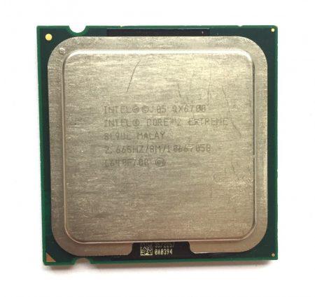 Intel Core 2 Extreme Quad QX6700 4 magos 2,66Ghz CPU Processzor 1066Mhz FSB 8Mb SL9UL