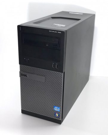 Dell Optiplex 390 MT használt számítógép i3-2120 3,30Ghz 4Gb DDR3 250Gb HDD