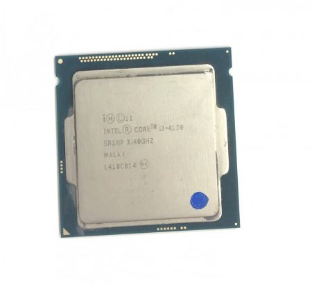Intel Core i3-4130 3,4Ghz használt CPU processzor LGA1150 SR1NP 4. gen.