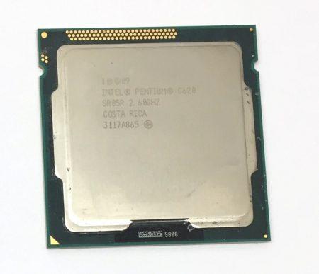 Intel Pentium G620 2,60Ghz 2 magos Processzor CPU LGA1155 3Mb cache 2. gen. SR05R