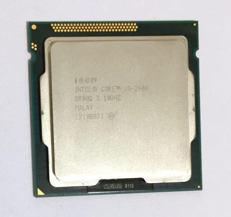 Intel Core i5-2400 3,40Ghz 4 magos Processzor CPU LGA1155 6Mb cache 2. gen. SR00Q