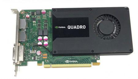 NVIDIA Quadro K2000 2Gb GDDR5 128bit használt 4K videokártya PCI-e CAD PS