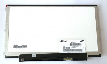 "12,5"" 40pin matt HD 1366 x 768  HD Slim LTN125AT01 LED LCD laptop notebook kijelző X220 X230"