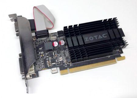 Zotac nVIDIA Geforce GT 710 1Gb DDR3 használt videokártya