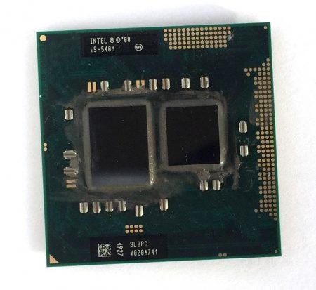 Intel Core i5-540M laptop CPU processzor 3.06Ghz G1 1. generáció SLBPG