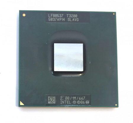 Intel Pentium Dual-Core T3200 laptop processzor CPU 2,00Ghz 667Mhz FSB 1Mb L2 Socket P SLAVG