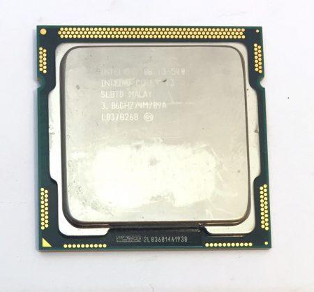 Intel Core i3-540 3.06Ghz 2 magos Processzor CPU LGA1156 4Mb cache 1. gen. SLBTD
