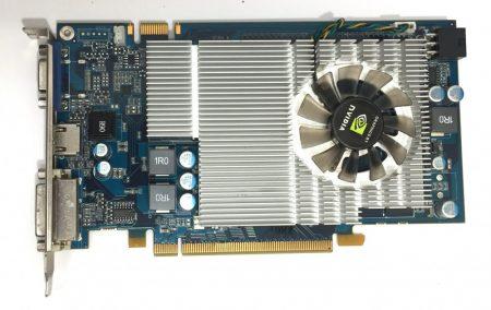 nVIDA GeForce 9600 GS 768Mb 192bit használt HDMI videokártya