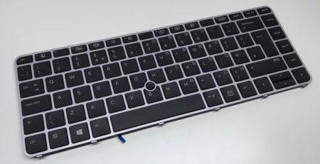 HP EliteBook 840 850 740 750 745 755 G1 G2 gyári MAGYAR laptop billentyűzet HU 736658-211