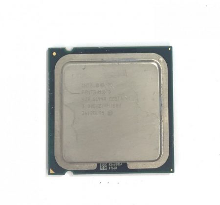 Intel Pentium D 930 3,00Ghz 2 magos használt processzor CPU LGA775 800Mhz FSB 4Mb L2 SL94R