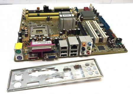 Asus P5B-VM LGA775 használt alaplap DDR2 6 Hónap Garancia PCI-e VGA SATA