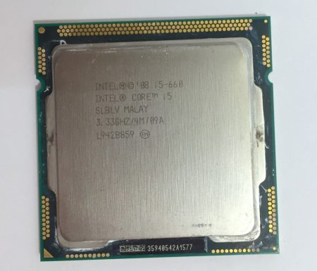 Intel Core i5-660 3,60Ghz Processzor CPU LGA1156 SLBLV 4Mb cache 1. gen.