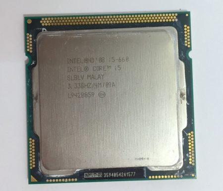 Intel Core i5-660 használt processzor CPU