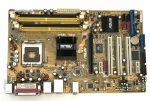 Asus P5L 1394 LGA775 használt alaplap DDR2 PCI-e SATA