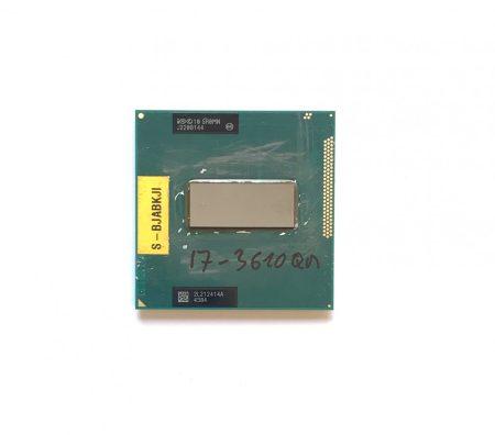 Intel Core i7-3610QM használt Quad laptop CPU processzor 3,30Ghz G2 3. gen. 6Mb Cache SR0MN