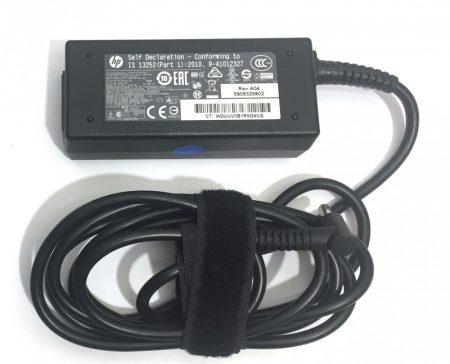 HP 45W laptop töltő AC adapter EREDETI 19,5V 2.31A 740015-001 HSTNN-LA4 (új fajta, kék végű)