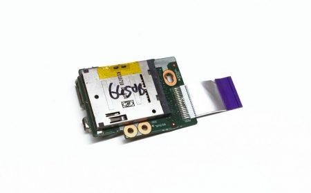 Hp Probook 6450B használt bontott USB FireWire és SD kártya olvasó panel