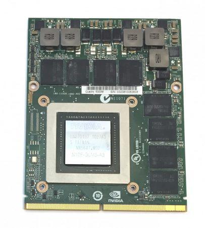 nVidia Quadro 5000M Laptop videokártya 2Gb GDDR5 MXM 3.0b N10E-GLM5-A3