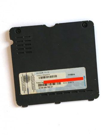 Lenovo X201 memória alsó fedlap fedél műanyag burkolat + Windows 7 pro COA matrica