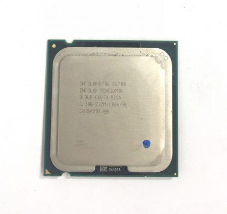 Intel Pentium Dual-Core E6700 3,20Ghz használt processzor CPU LGA775 1066Mhz FSB 2Mb Cache SLGUF